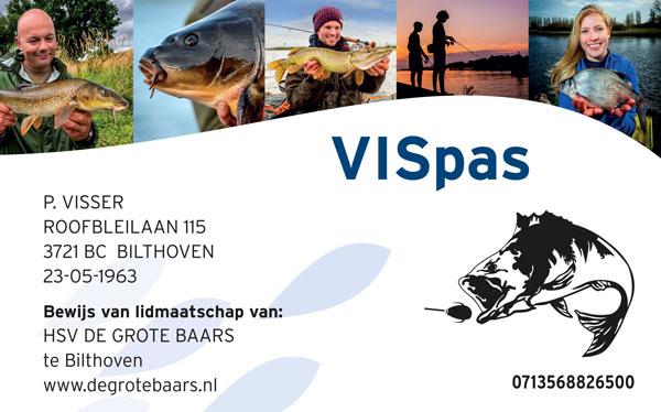 HSV Waddinxveen - Hengelsport - Vispas